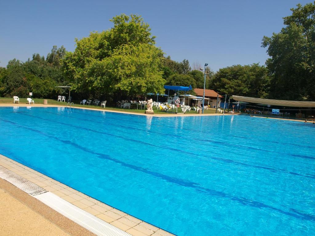 בריכת השחייה שנמצאת ב-הגושרים מלון בטבע או באזור