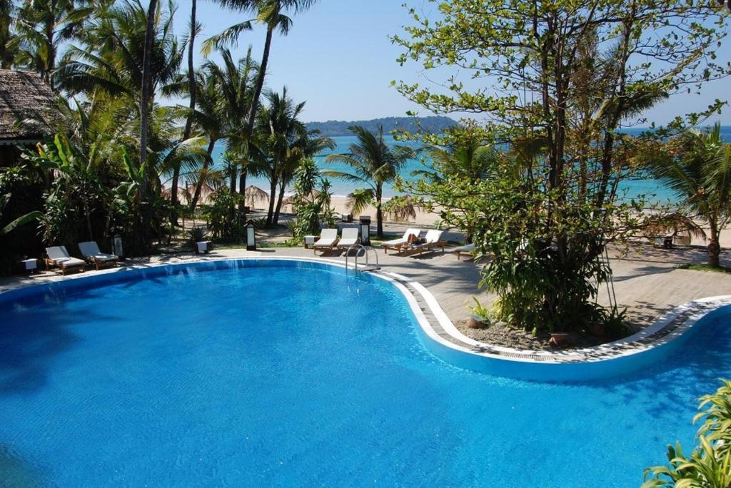 The swimming pool at or near Sandoway Resort