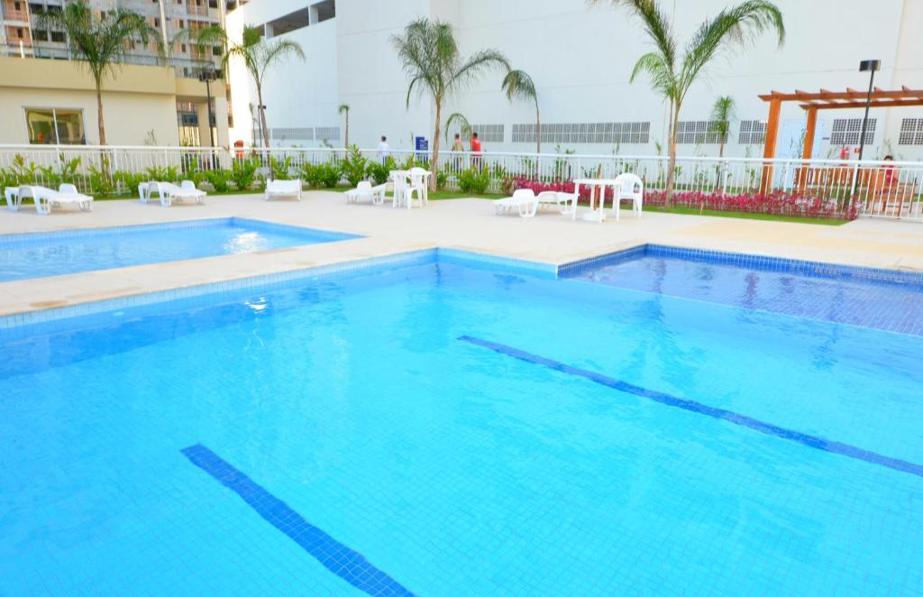 The swimming pool at or near Rio Parque