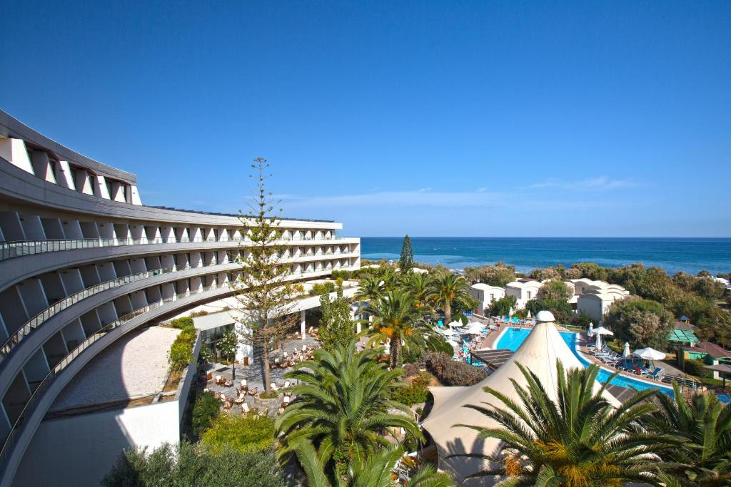 A view of the pool at Agapi Beach Resort Premium All Inclusive or nearby