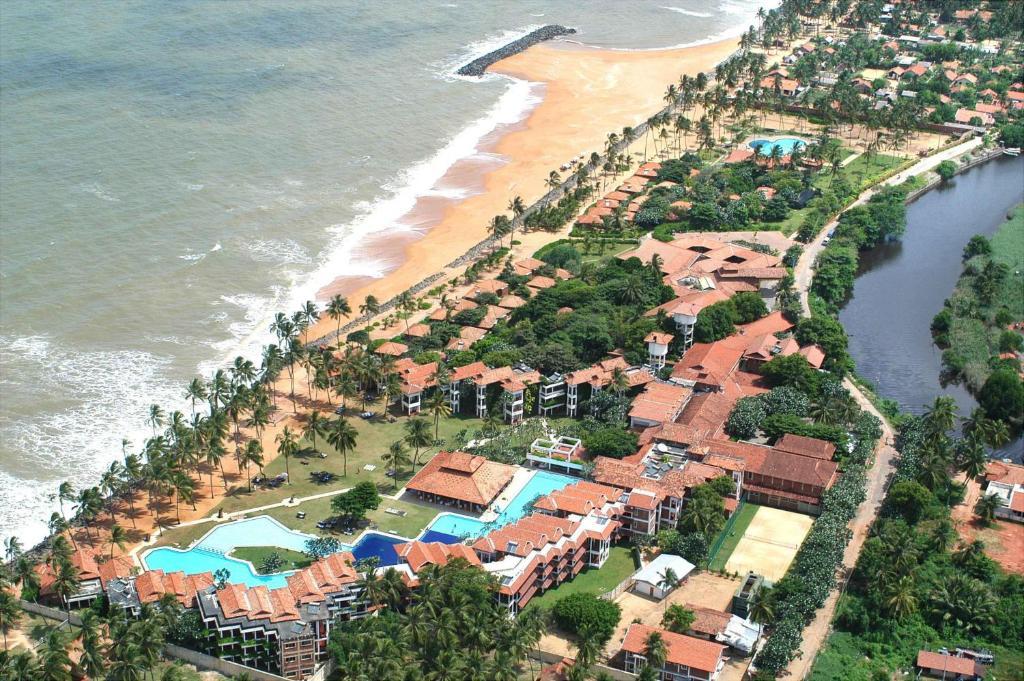 A bird's-eye view of Club Hotel Dolphin
