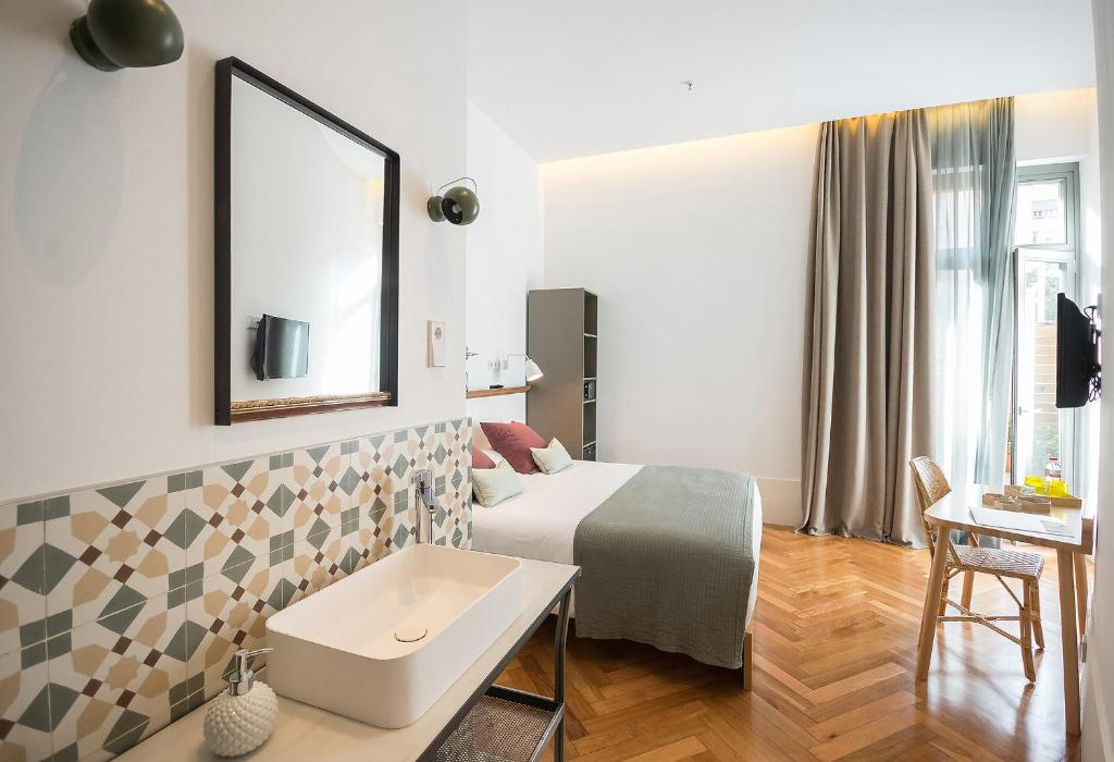 A bathroom at Casa Mathilda