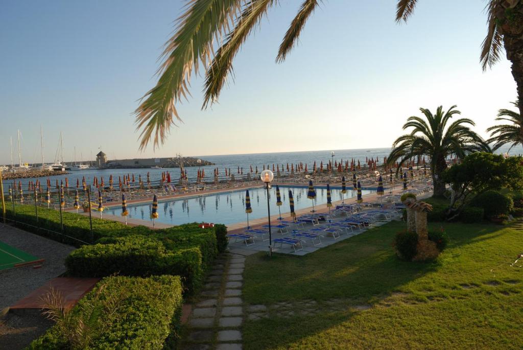 The swimming pool at or near Hotel Baia Del Sole