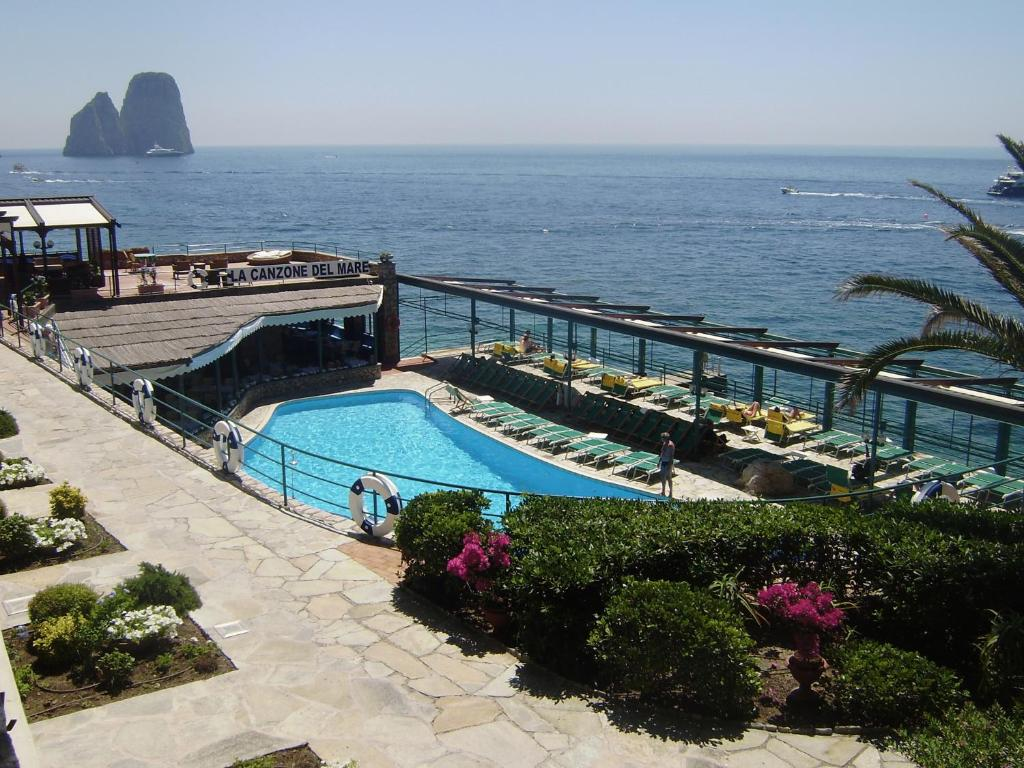 A view of the pool at Diva La Canzone Del Mare or nearby