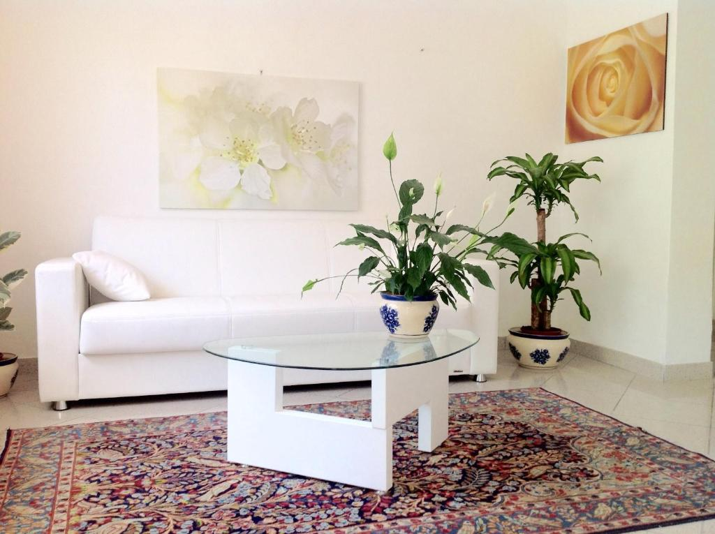 A seating area at Residence Villa Ofelia