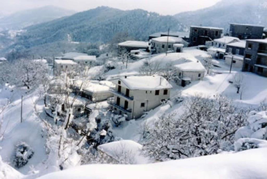 Kosmas Studios during the winter