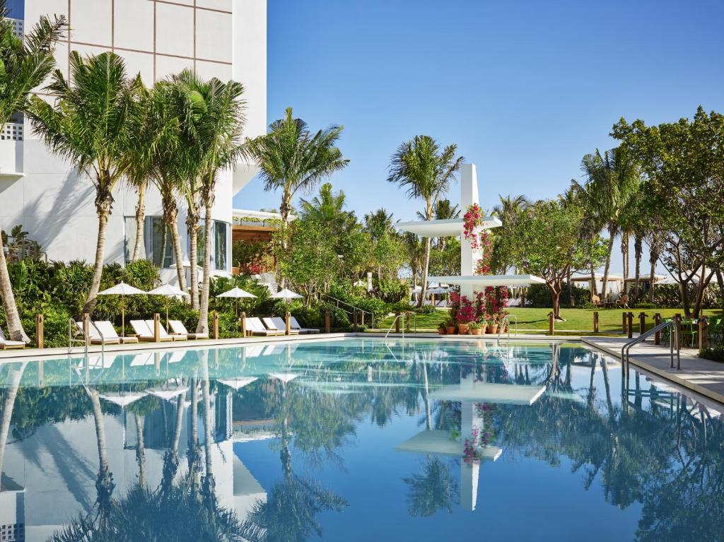 The swimming pool at or near The Miami Beach EDITION