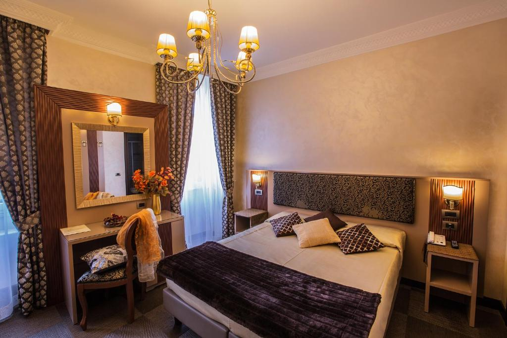 A room at the Hotel Romano.