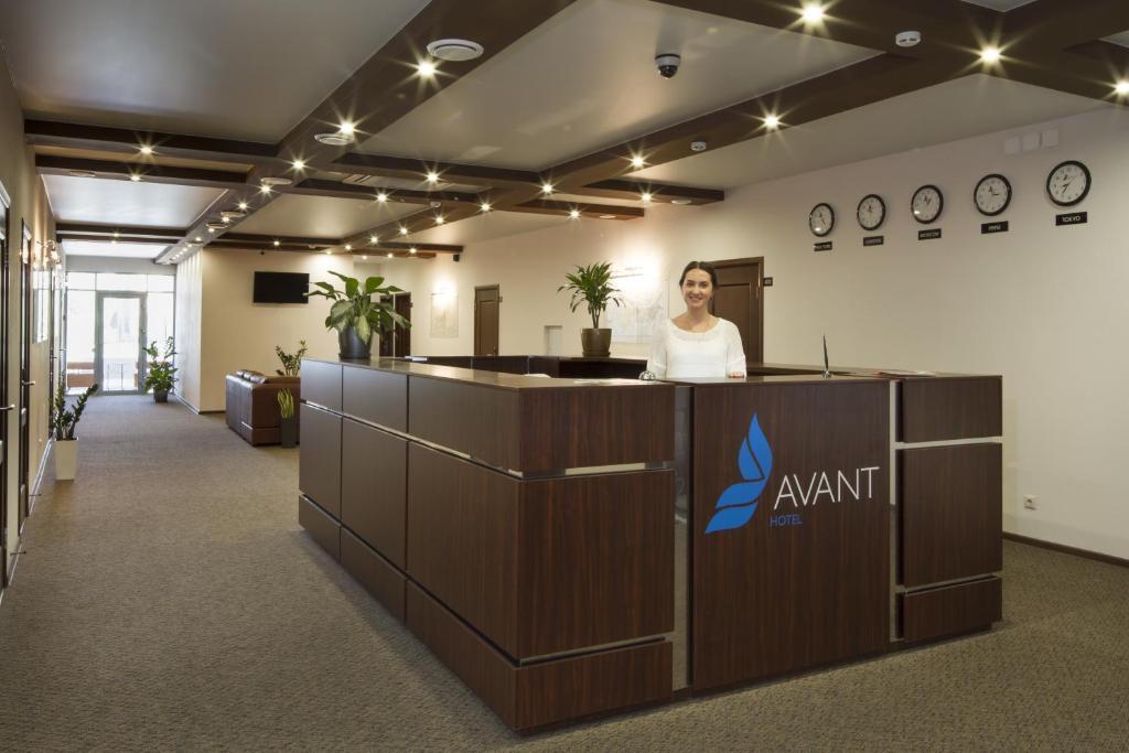 Лобби или стойка регистрации в Отель AVANT