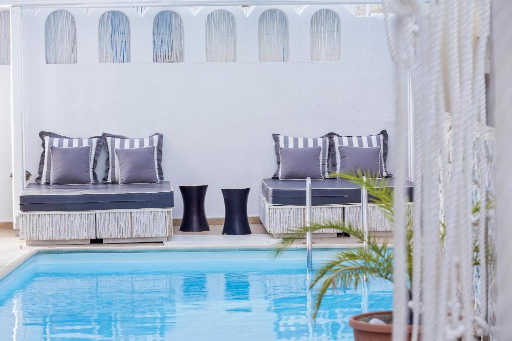 The swimming pool at or near Loizos Stylish Residences