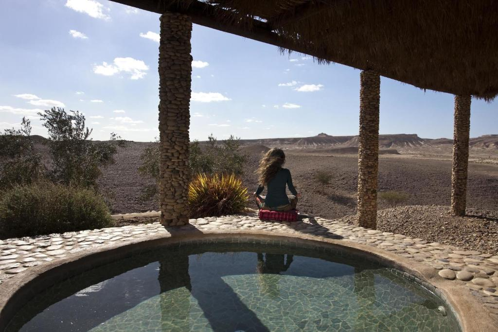 The swimming pool at or near Arava Land