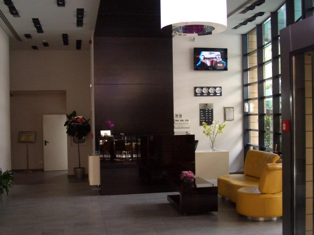 The lobby or reception area at Hotel Berthelot