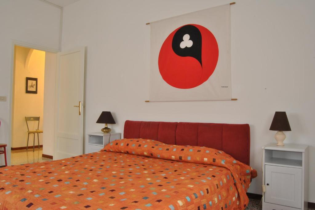 A bed or beds in a room at Lombardi Abbeveratoia