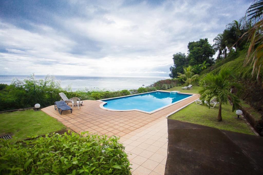 A piscina localizada em Residence Tahiri Appartement vue mer ou nos arredores