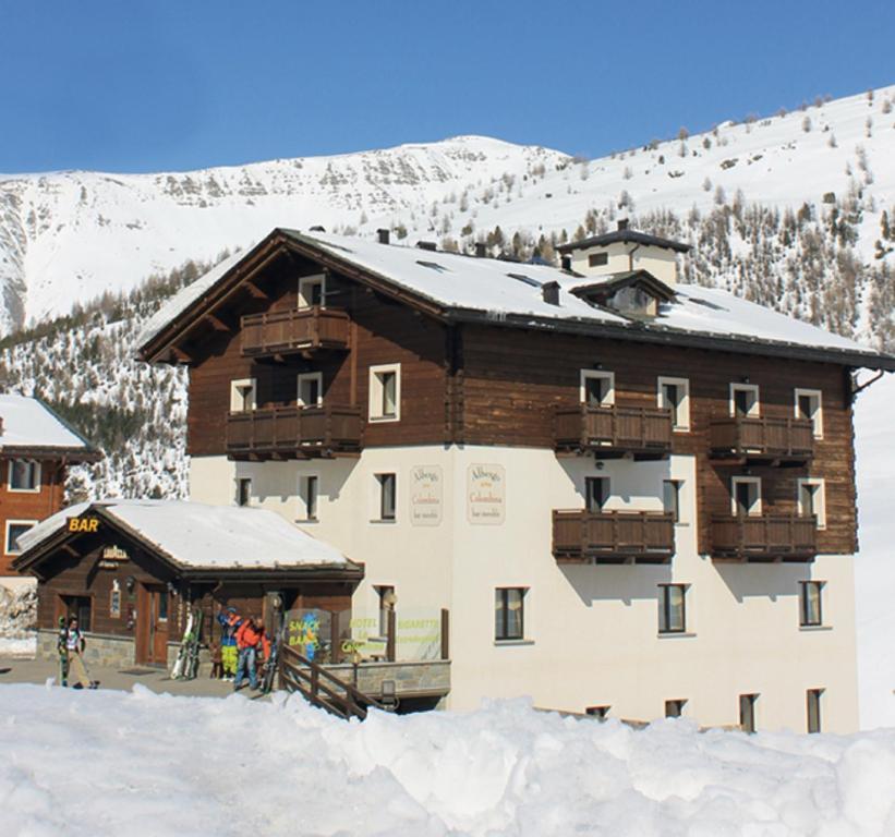 Hotel La Colombina v zimě