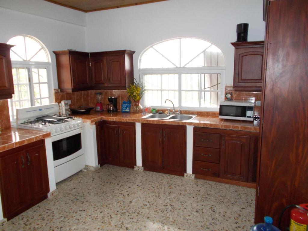 Küche/Küchenzeile in der Unterkunft Castillo Romano