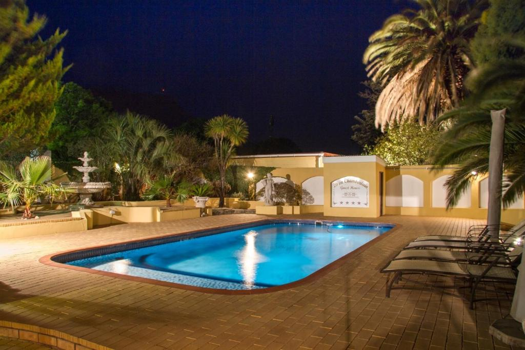 The swimming pool at or close to 26 On Chamberlain Guest House