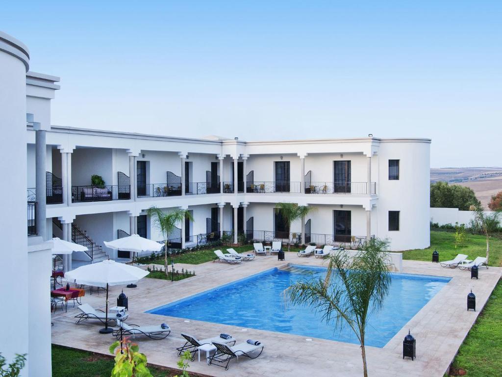 The swimming pool at or near Villa Agapanthe