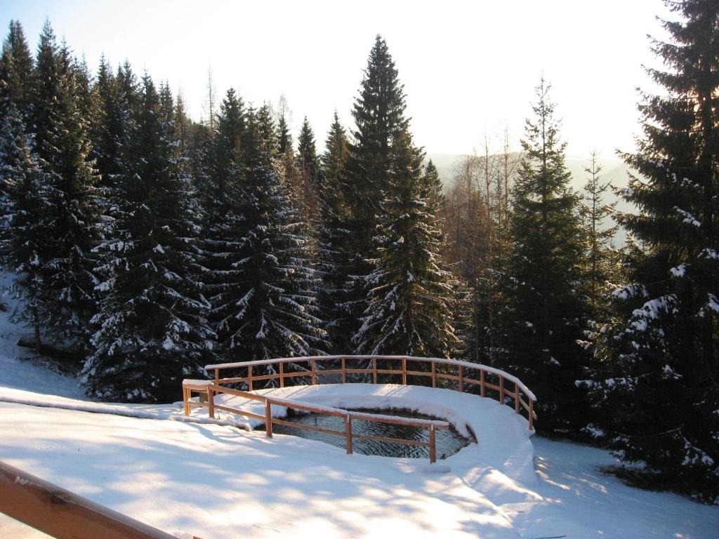 Chalet Nel Doch Villa Cheia durante l'inverno