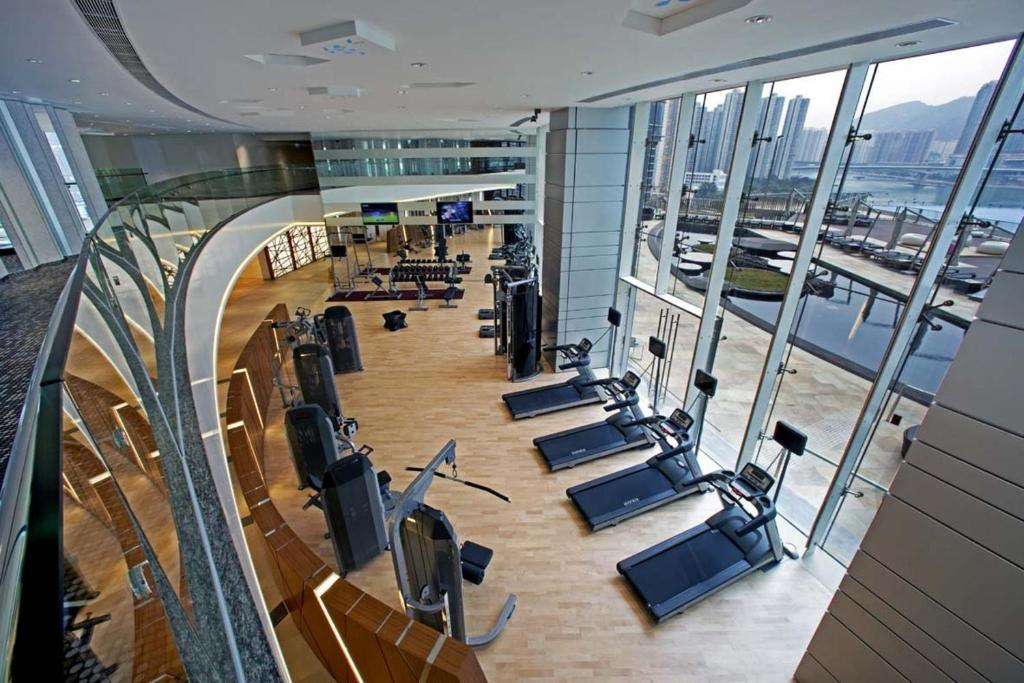 The fitness center and/or fitness facilities at Nina Hotel Tsuen Wan West (Formerly L'hotel Nina et Convention Centre)