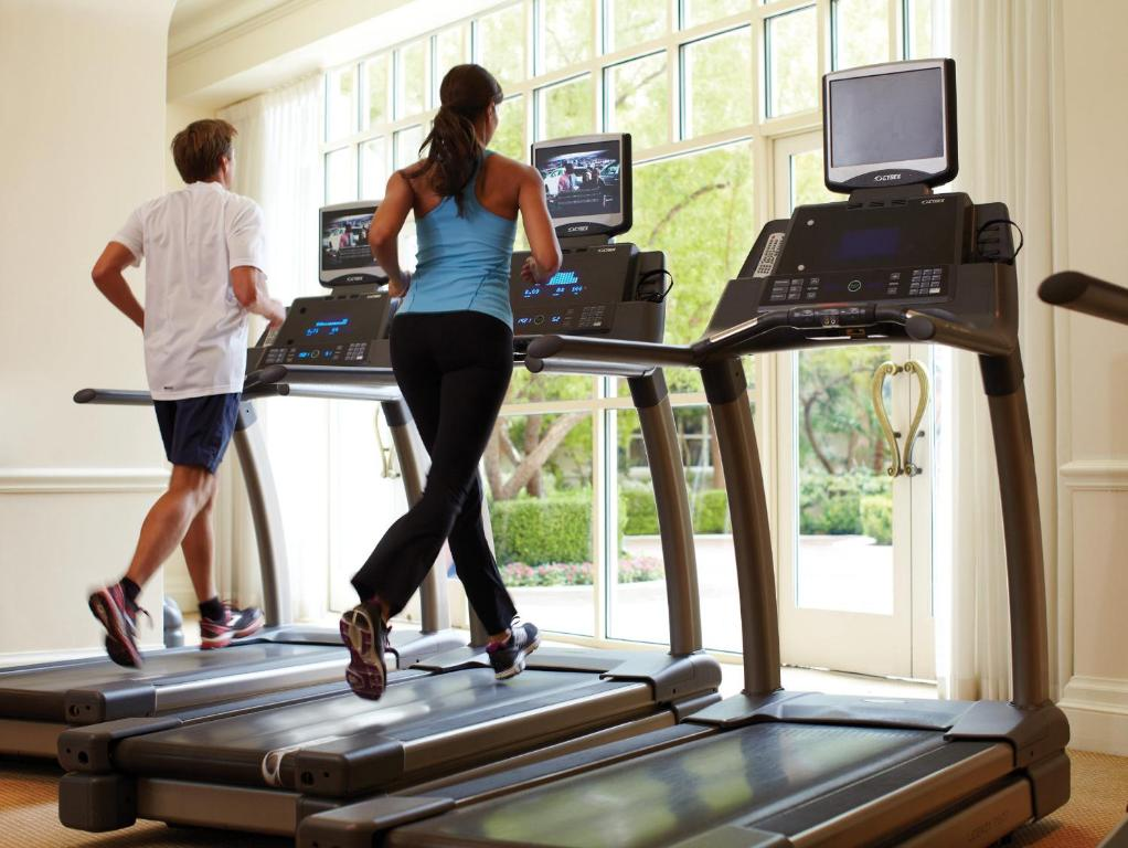 The fitness center and/or fitness facilities at Four Seasons Hotel Las Vegas