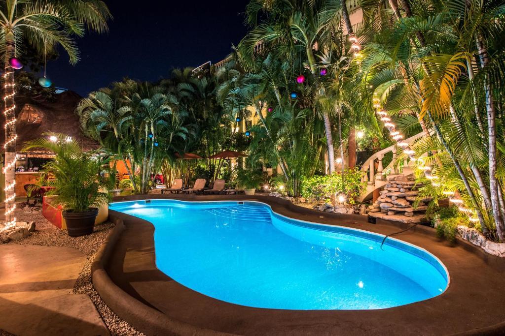 Piscina en o cerca de Aventura Mexicana Hotel