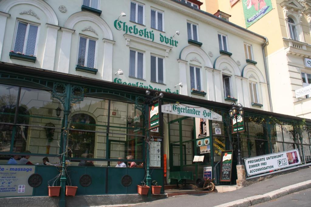Chebsky dvur - Egerlander Hof Karlovy Vary, Czech Republic