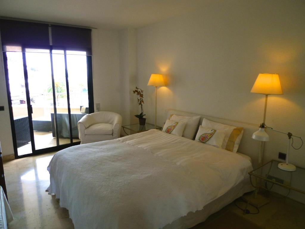 A bed or beds in a room at Palma Vista