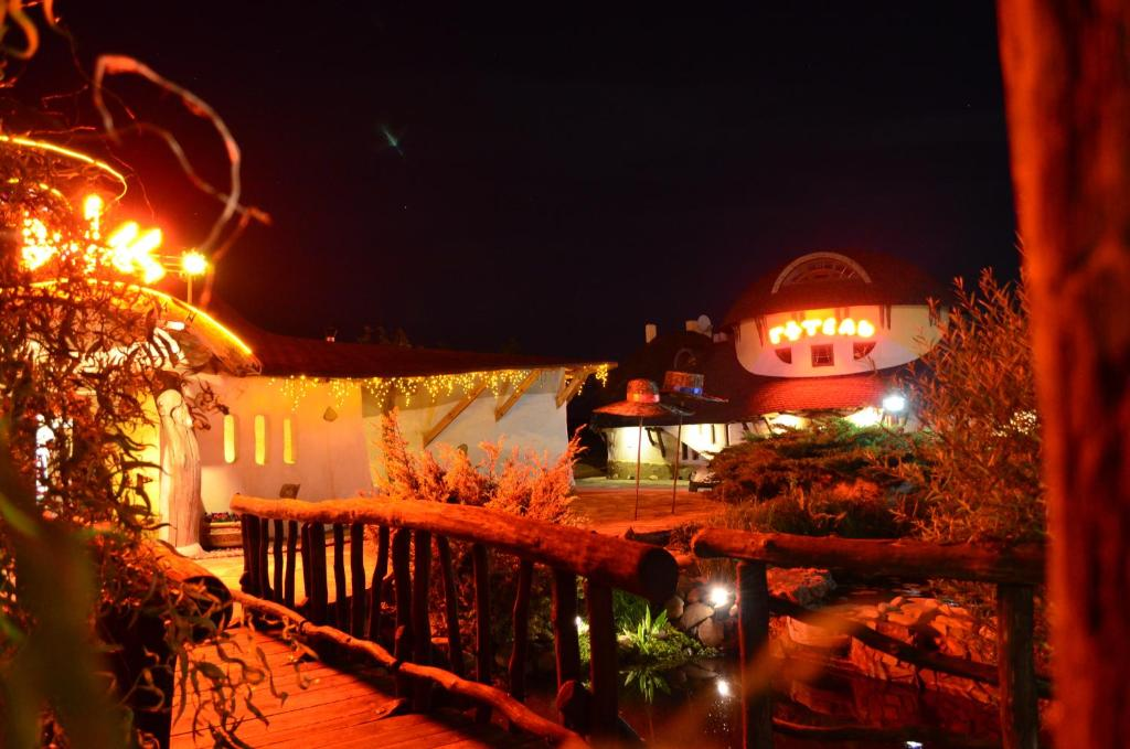 Hotel Veles during the winter