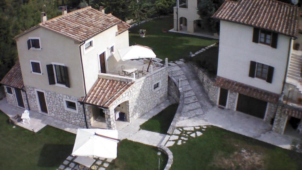 Casa Vacanze San Francesco с высоты птичьего полета