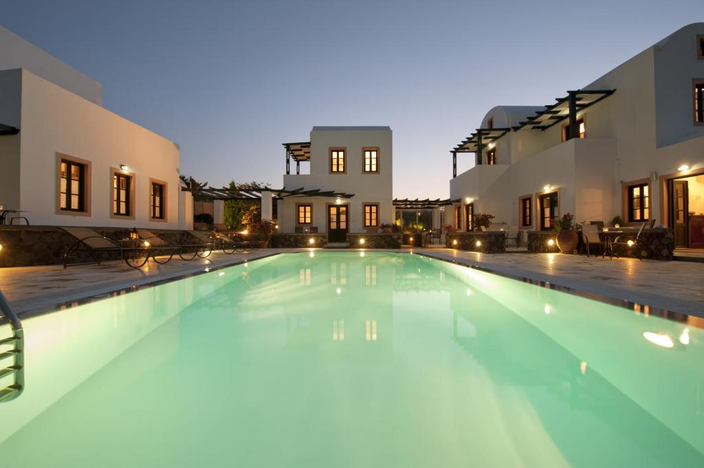 The swimming pool at or near Anthonas Apartments