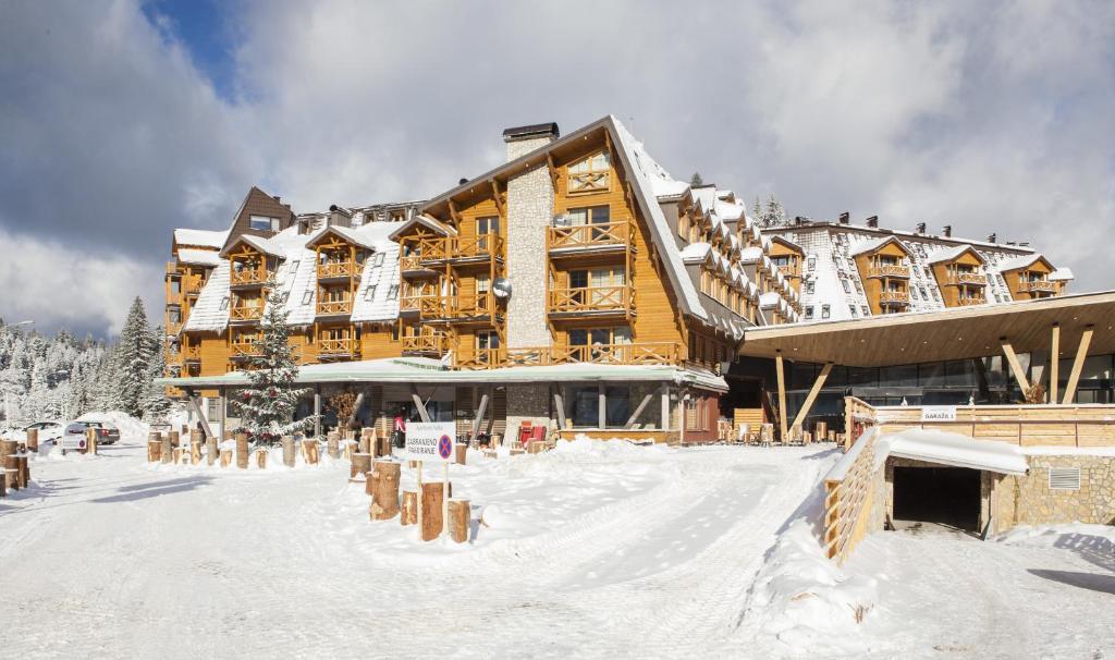 Kış mevsiminde Aparthotel Vucko