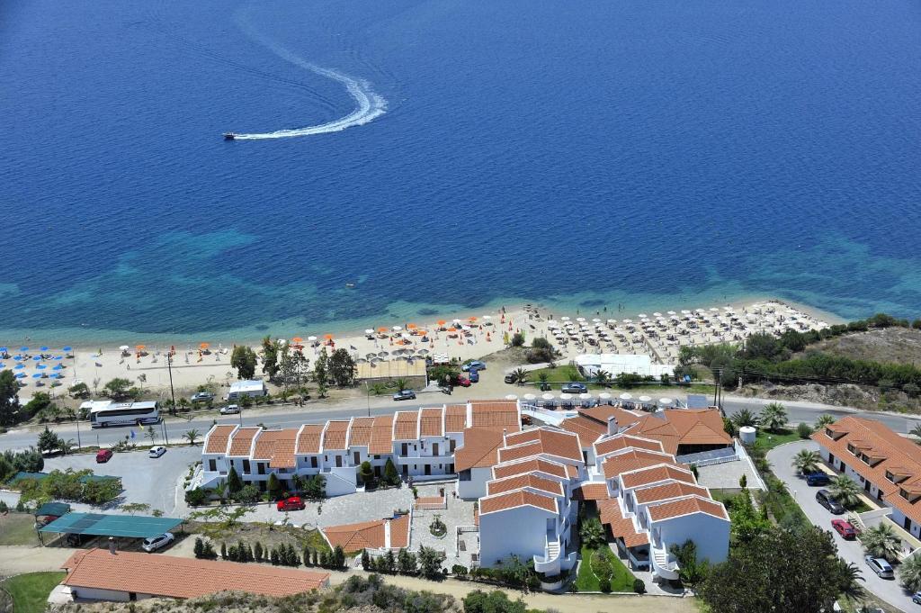 Άποψη από ψηλά του Hotel Akti Ouranoupoli Beach Resort