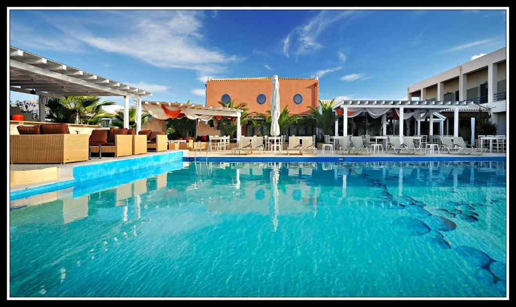 The swimming pool at or near Ianos Hotel