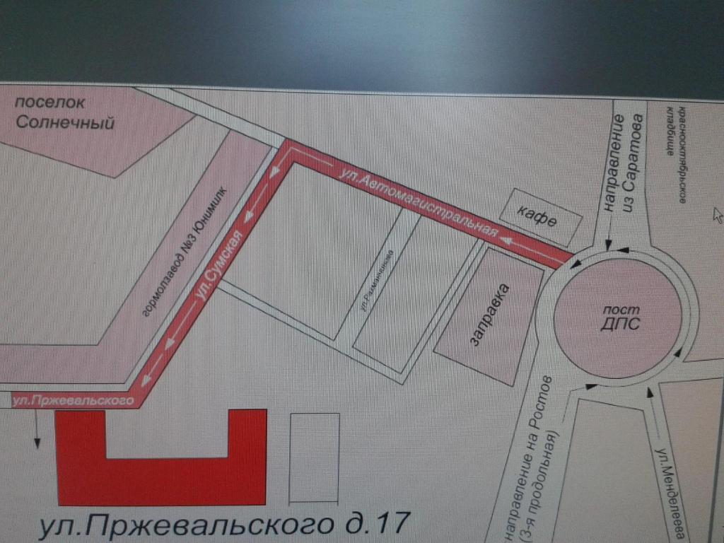 Планировка Inn Delovoi Vizit