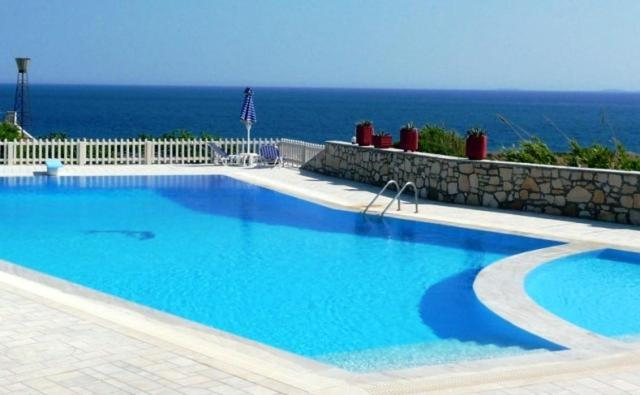 The swimming pool at or close to Nicolas Apartments