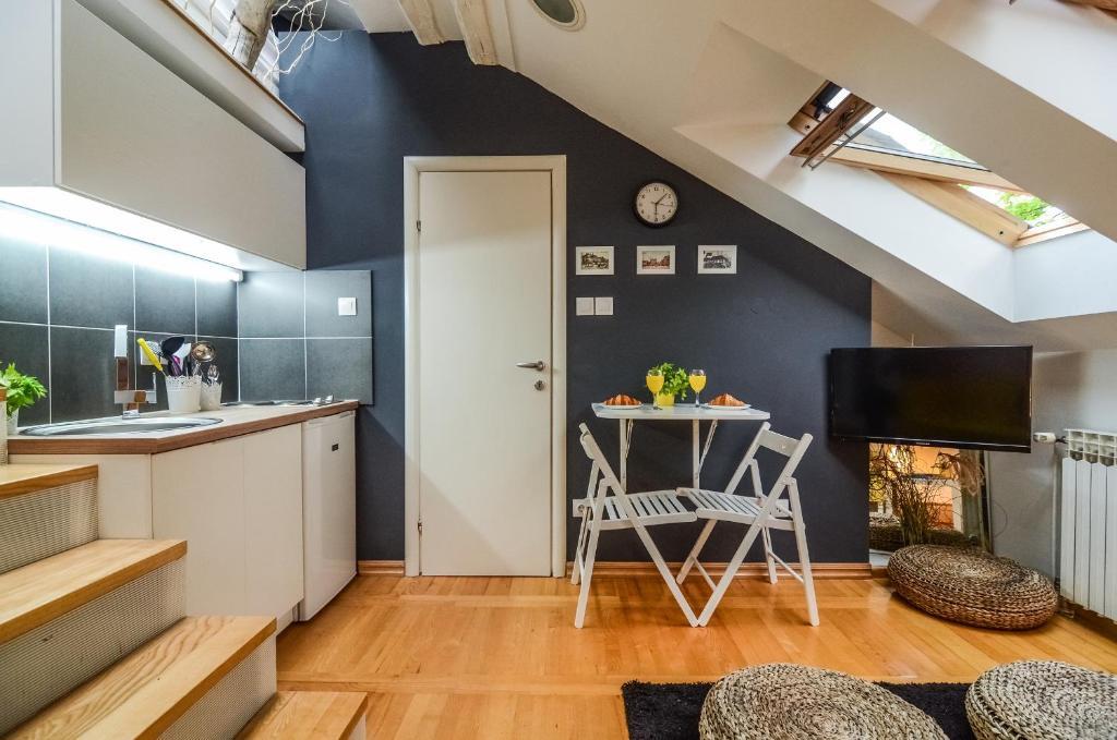 Cucina o angolo cottura di Apartments Kruc