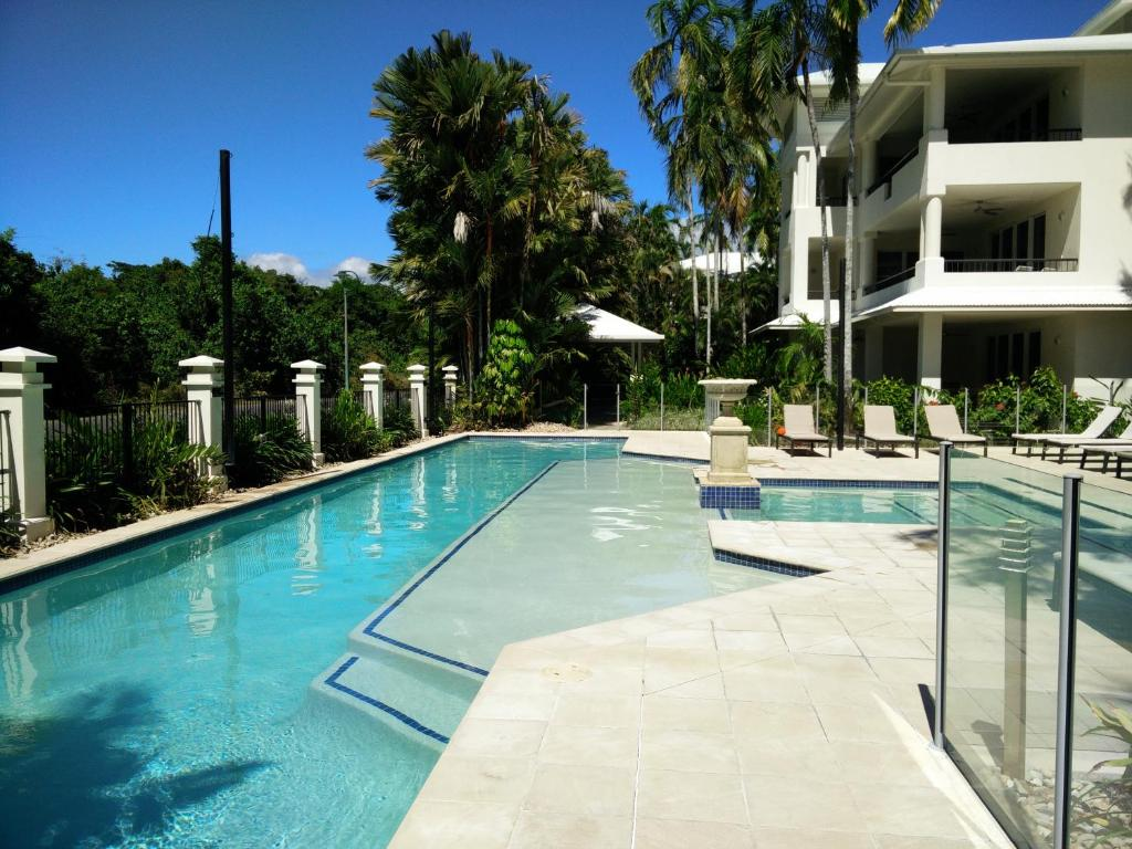 The swimming pool at or near Mandalay Luxury Beachfront Apartments