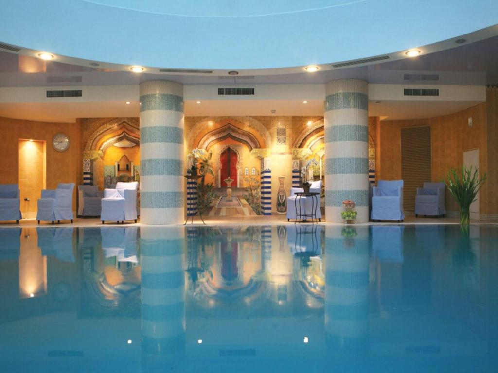 The swimming pool at or near Spa Club Dead Sea Hotel