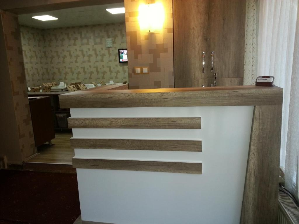 The lobby or reception area at Hotel Kervansaray