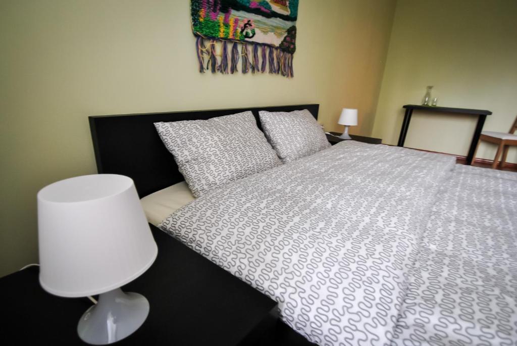 Кровать или кровати в номере Мини гостиница Транзит Внуково