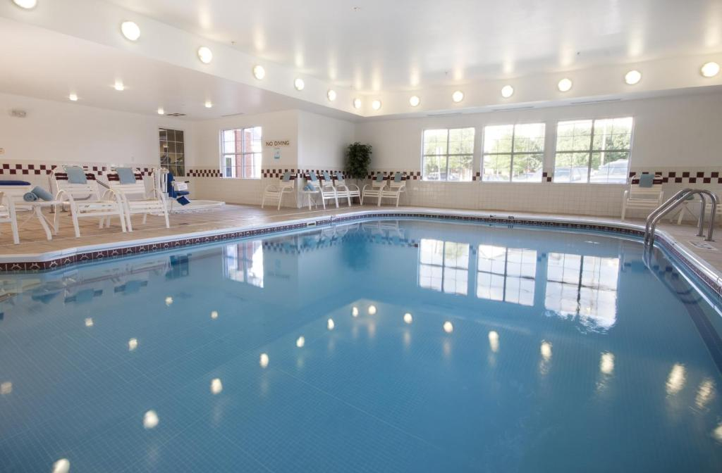 The swimming pool at or near Residence Inn by Marriott Oklahoma City South