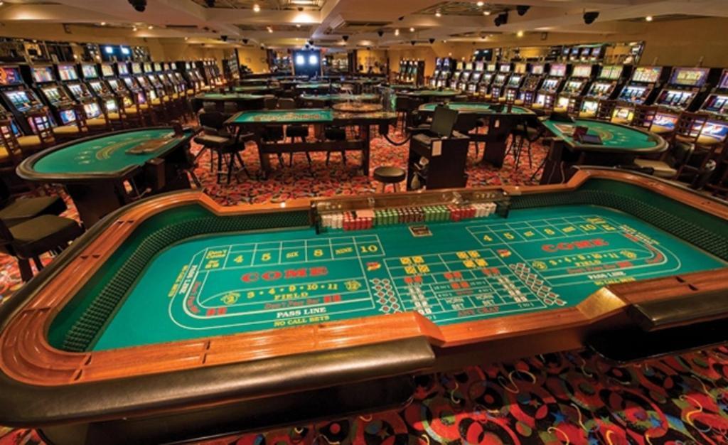 The casino at Casears Atlantic City.