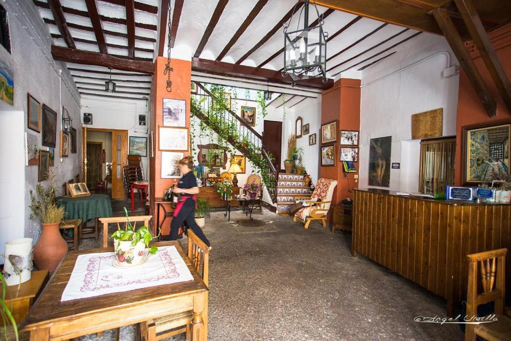 The lobby or reception area at Posada Maruja