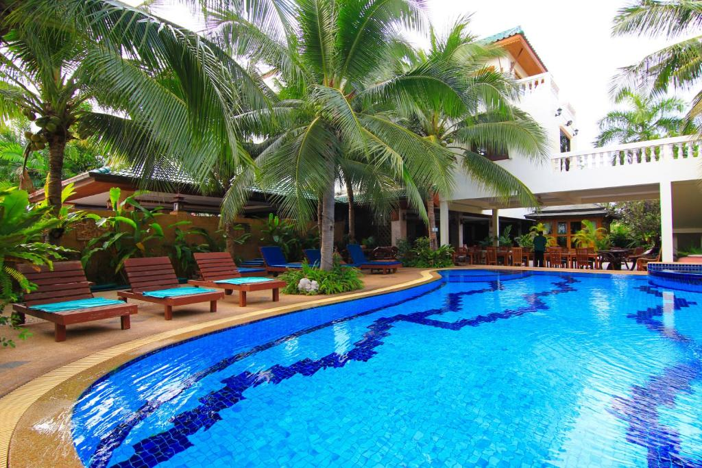 The swimming pool at or near Hua Hin Golf Villa