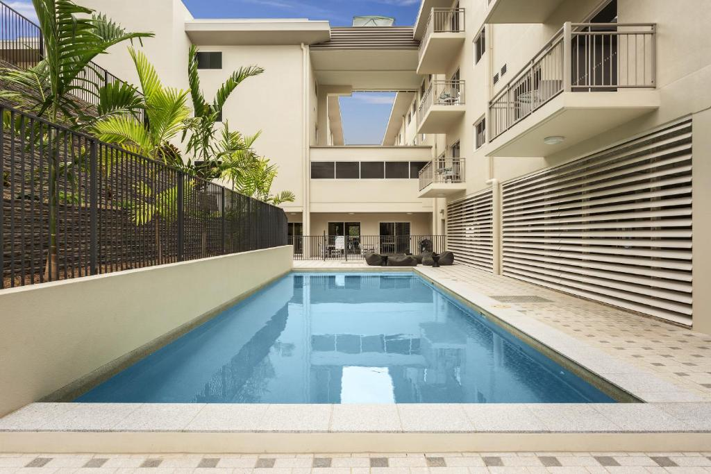 The swimming pool at or near Quest Townsville on Eyre
