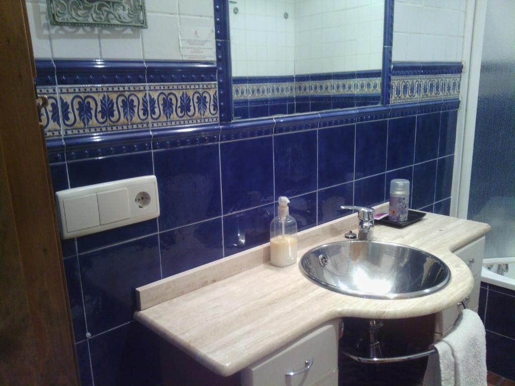 A bathroom at Ganbara