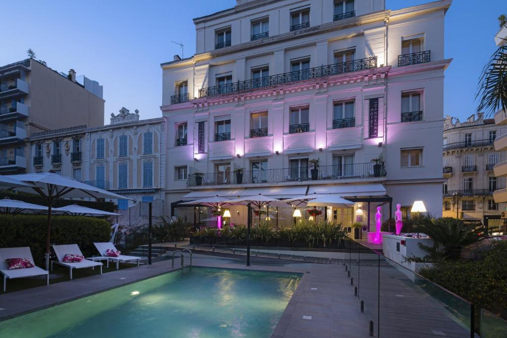 Hôtel Cristal - Laterooms