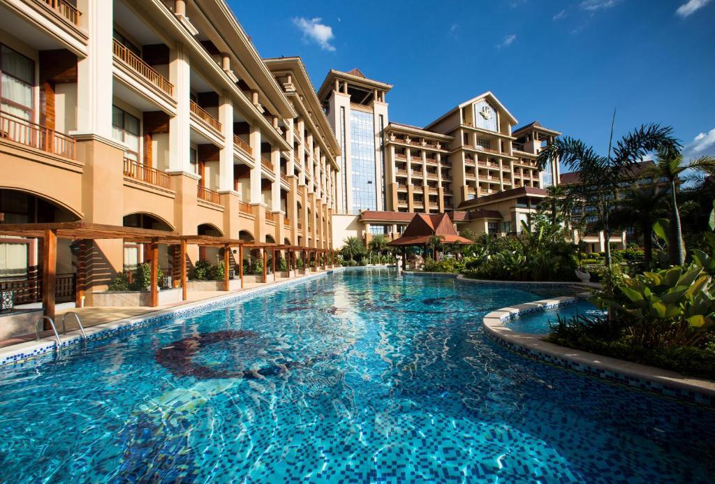 The swimming pool at or near Landmark Mekong Riverside Hotel
