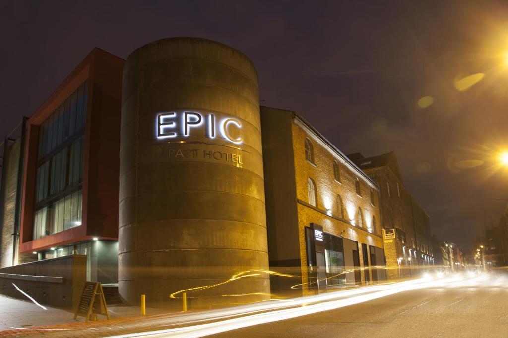 Epic Apart Hotel Liverpool - Seel Street - Laterooms